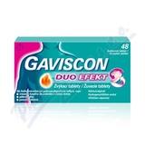 Gaviscon Duo Efekt žvýkací tablety por. tbl. mnd. 48
