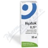 Hyabak 0. 15% gtt.  10ml