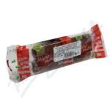 Jablečné trubičky ochucené karobovou polevou 24g