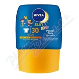 NIVEA SUN dět. mléko na opalování OF30 kapesní 50ml