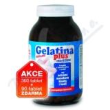 Gelatina Plus kolagenní výživa tbl. 360+90 zdarma
