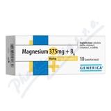 Magnesium 375mg+B6 forte Generica+Vit. C eff. tbl. 10