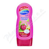 Bübchen šampon a sprch. gel pro děti malina 230ml