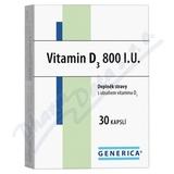 Vitamin D3 800 I. U.  Generica cps. 30