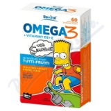 The Simpsons Omega 3+vitaminy D a E cps. 60