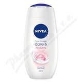 NIVEA Sprchový gel Care&Roses 250ml.  č. 80858