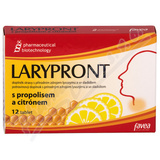 Larypront tbl. 12 s propolisem a citrónem