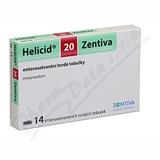 Helicid 20 Zentiva cps. etd. 14x20mg
