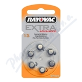 Rayovac Extra Adv. 13 baterie do naslouchadel 6ks