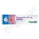 PP Magnesium 250 mg s vit. C eff. tbl. 20 PharmaPoint