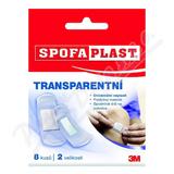 3M Spofaplast 177 Transparentní 8ks