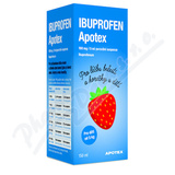 Ibuprofen Apotex 100mg-5ml por. sus.  1x150ml