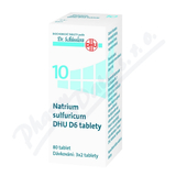 Natrium sulfuricum DHU D5-D30 tbl. nob. 80
