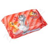 Cottonino Dětské vlhč. ubrousky Tom&Jerry jah. 72ks