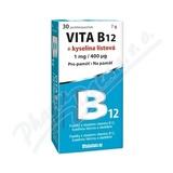 Vita B12 + kyselina listová 1 mg-400mcg tbl. 30