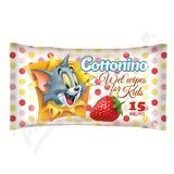 Cottonino Dětské vlhč. ubrousky Tom&Jerry jah. 15ks