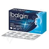 Ibalgin Grip 200mg-5mg tbl. flm. 24