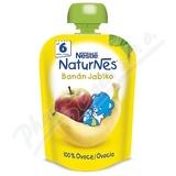 NESTLÉ kapsička ovocná Naturnes Banán-Jablko 90gCZ