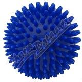 KineMAX Hedgehog Masážní míček ježek 9cm modrý
