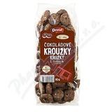 Kroužky čokoládové s karobem DRUID 80g