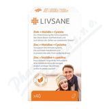 LIVSANE Zinek + Histidin + Cystein tbl. 40