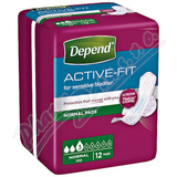 Depend Active-Fit Normal inkont. kalh. ženy 12ks