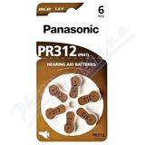 Panasonic PR312(PR41) baterie do naslouchadel 6ks