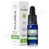 Puurex 5% CBD olej (250mg) 5ml
