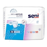 Seni Active Super Medium 10ks inkont. plenk. kalh.