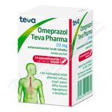 Omeprazol Teva Pharma 20mg por. cps. etd. 14x20mg