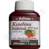 MedPharma Kyselina listová 400mcg tbl. 107
