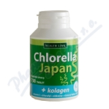 Chlorella Japan + kolagen tbl. 750