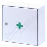 Lékárnička - nástěn. s náplní do20osob-ZM20 kovová
