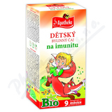 Apotheke Dětský čaj BIO na imunitu 20x1. 5g n. s.