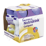 Nutridrink Compact s přích. banán por. sol. 4x125 ml