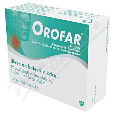 Orofar 1mg-1mg pas. 24 CZ