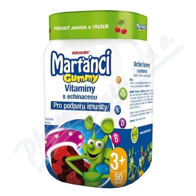 Walmark Marťánci Gummy Echinacea 20mg 50ks