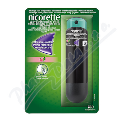 Nicorette Spray přích.les. ovoce 1mg-dáv. 1x13.2ml