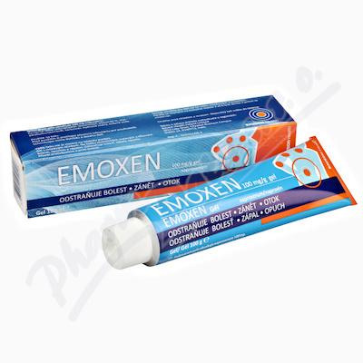 Emoxen 100mg-g gel 100g