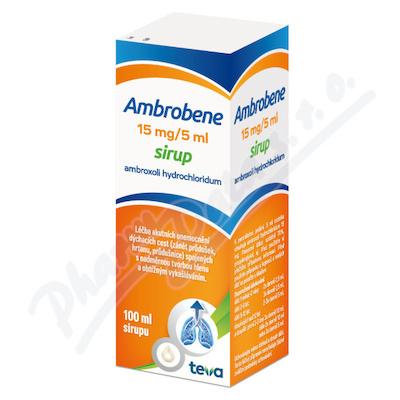 Ambrobene 15mg-5ml sir.1x100ml