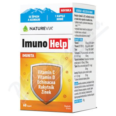 NatureVia ImunoHelp cps.60