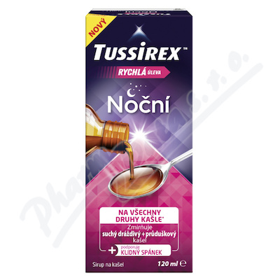 Tussirex noční sirup 120ml
